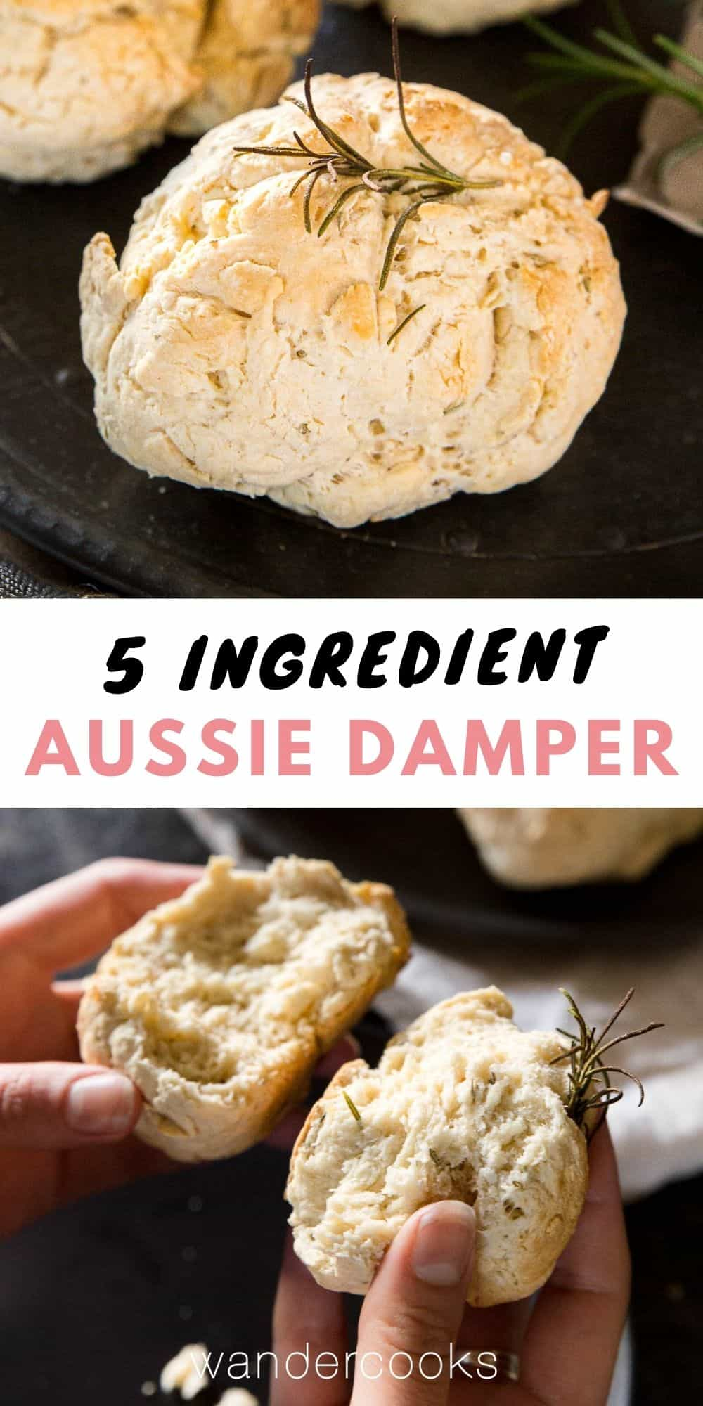 5 Ingredient Australian Damper Recipe