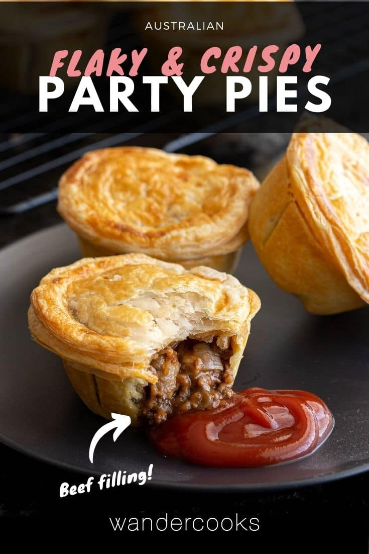 Australian Beef Party Pies (Mini Meat Pies)