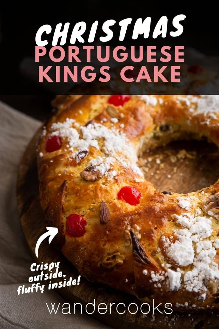 Bolo Rei - Portuguese Christmas Kings Cake
