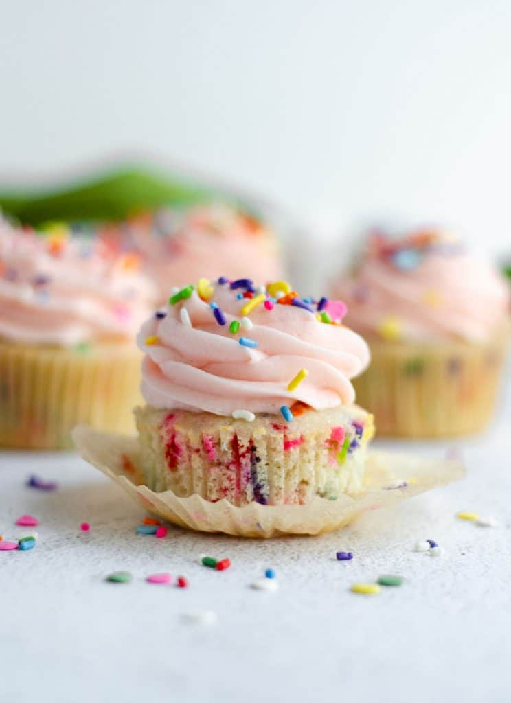 Fresh April Flour's Funfetti Cupcakes