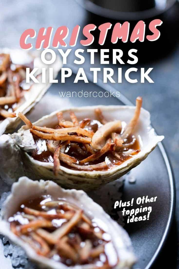 Easy Australian Oysters Kilpatrick