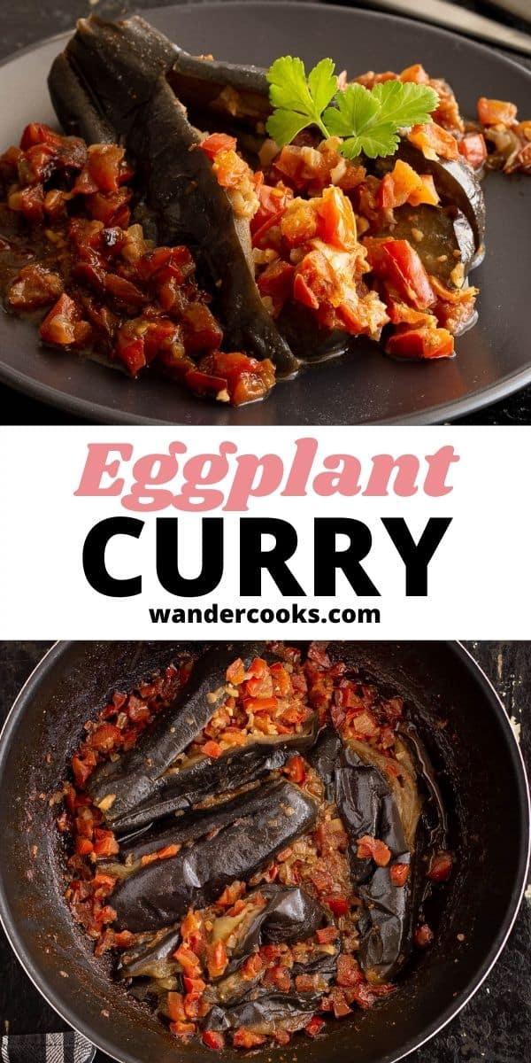 Burmese Eggplant Curry - Khayan Thee Hnut