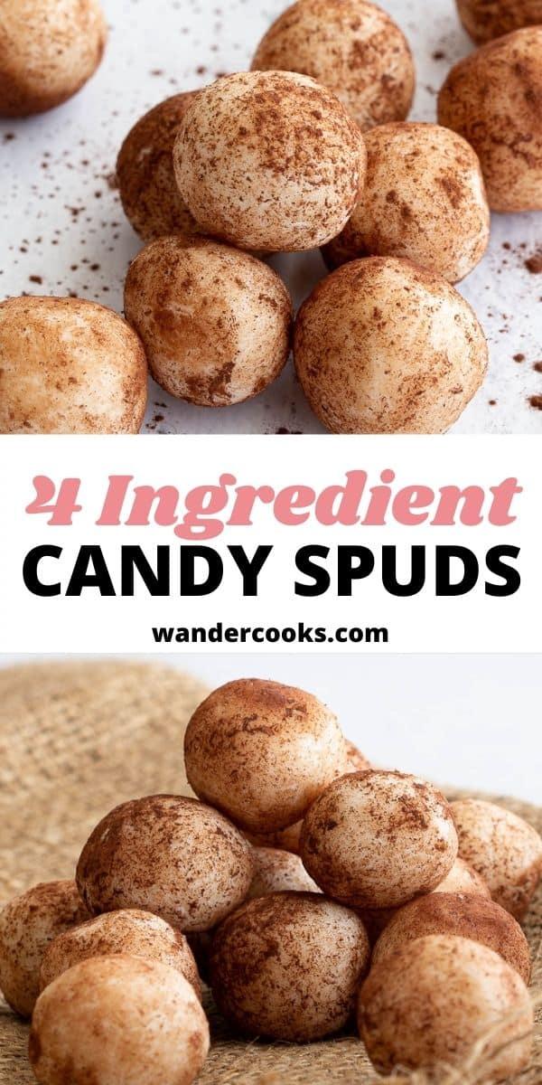 Candy Spuds - Condensed Milk Coconut Balls