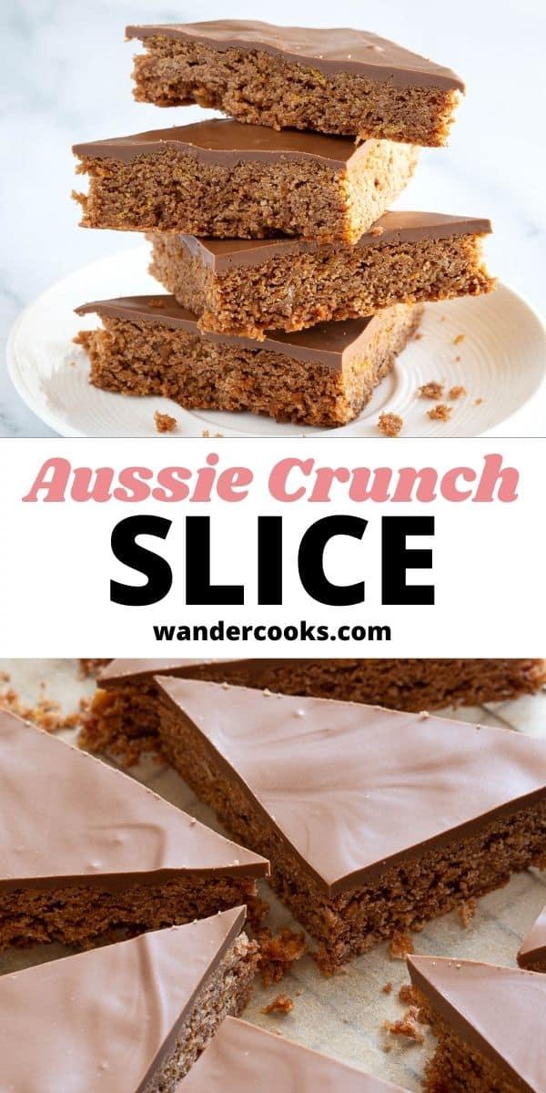 Aussie Crunch - Chocolate Coconut Slice