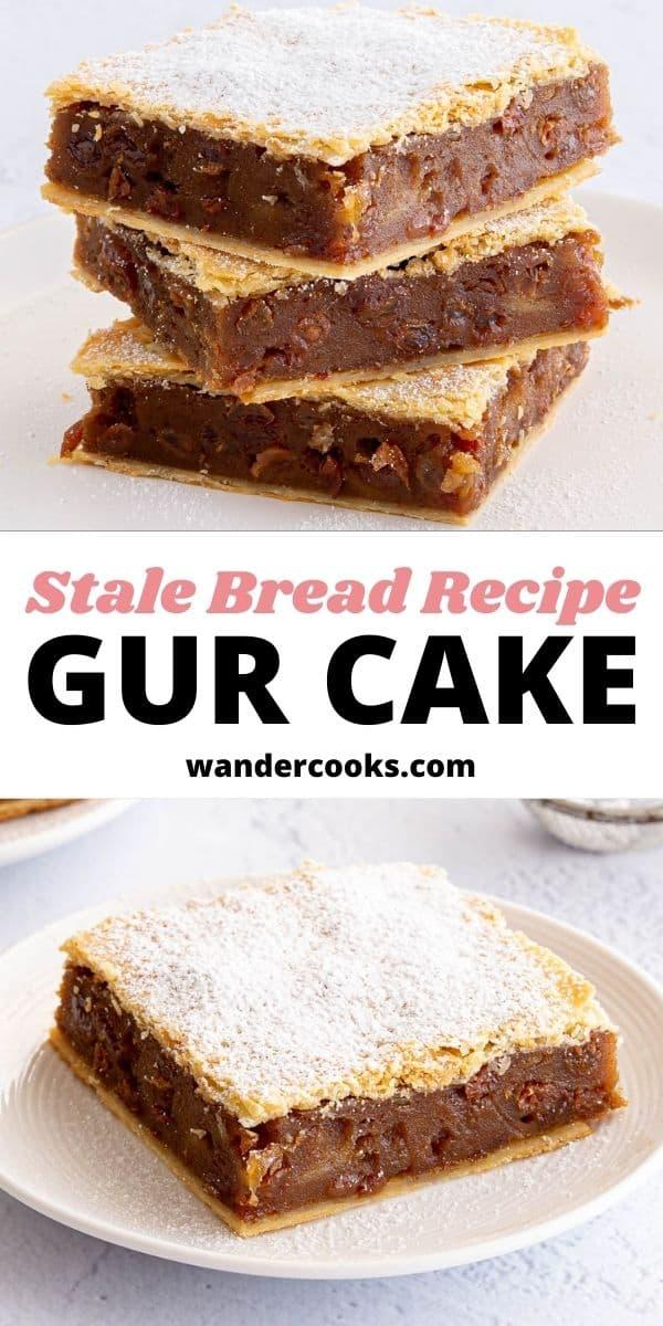 Chester Squares (Irish Gur Cake) - A Stale Bread Recipe