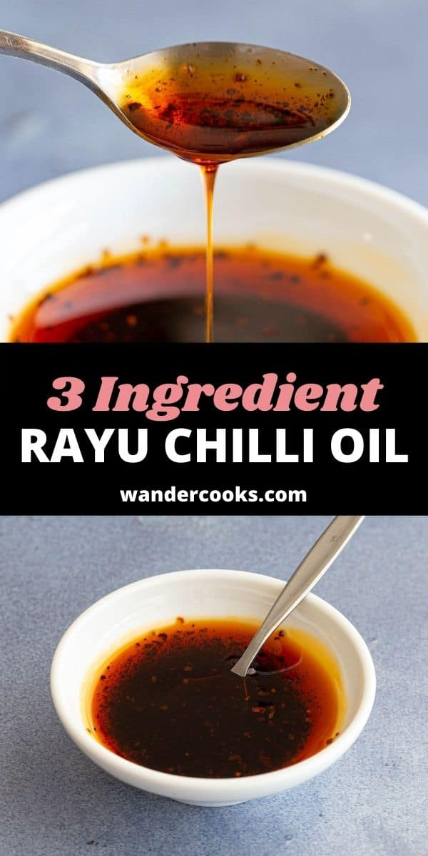 3 Ingredient Simple Rayu Chilli Oil (La Yu)