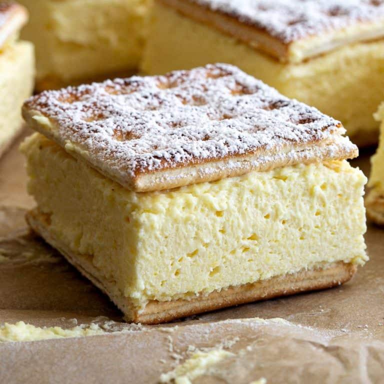 Easy Cheat's Vanilla Slice Recipe