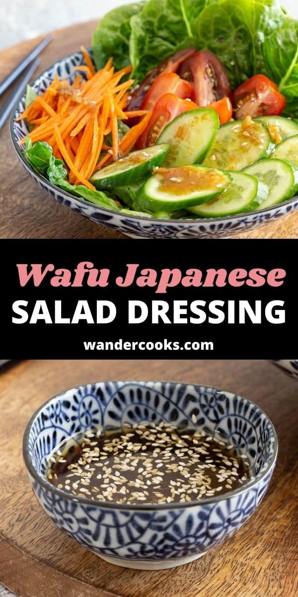 Wafu Dressing - Japanese Salad Dressing