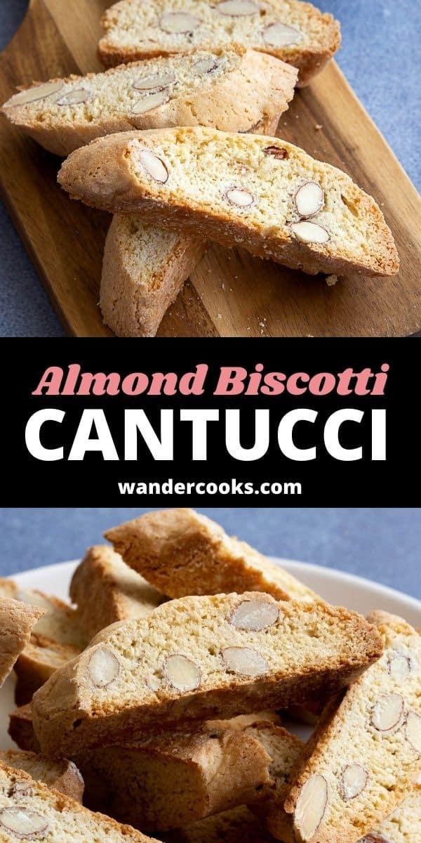 Cantucci - Easy Italian Almond Biscotti
