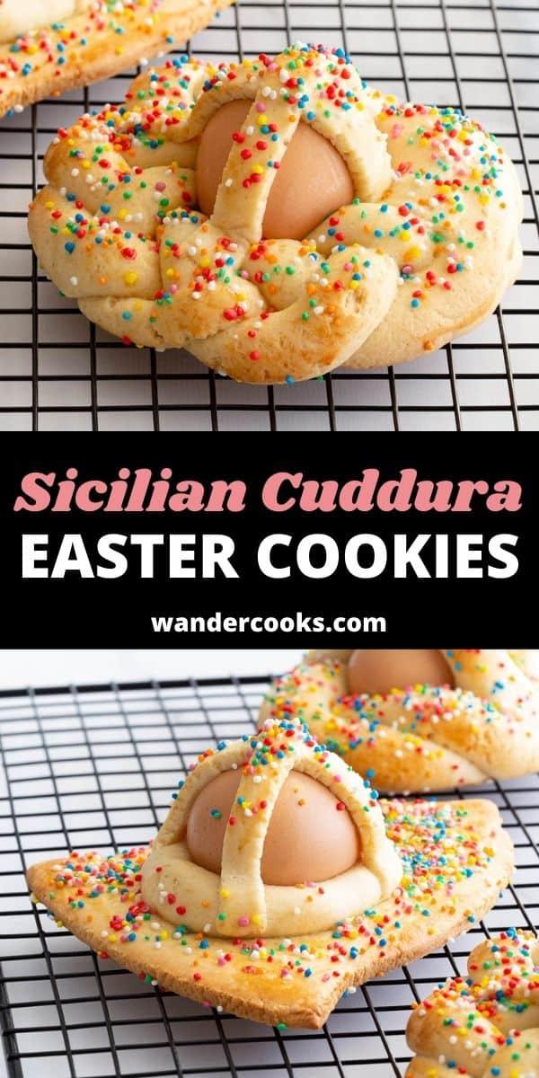 Sicilian Cuddura - Italian Easter Cookies