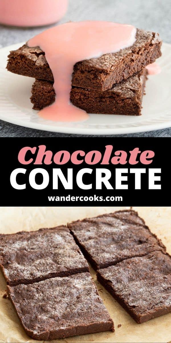 Easy 4 Ingredient Chocolate Concrete
