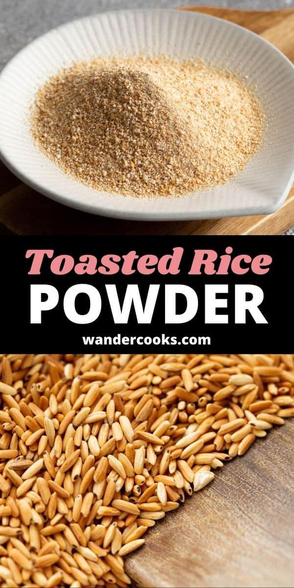 Thai Toasted Rice Powder - Khao Khua