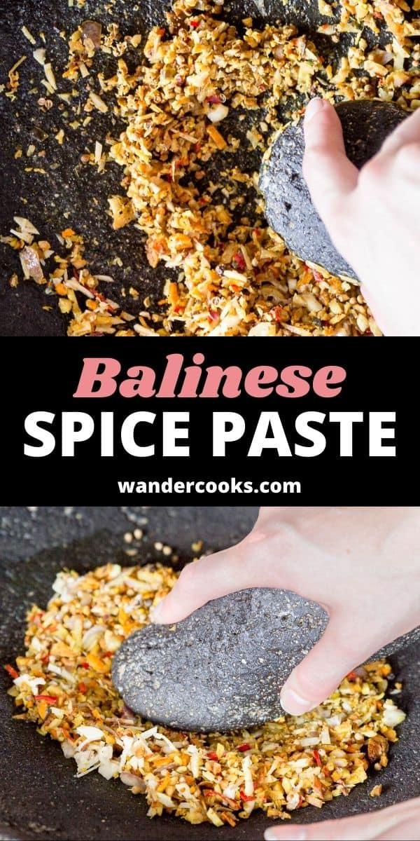 Bumbu Bali - Balinese Spice Paste (Base Genep)