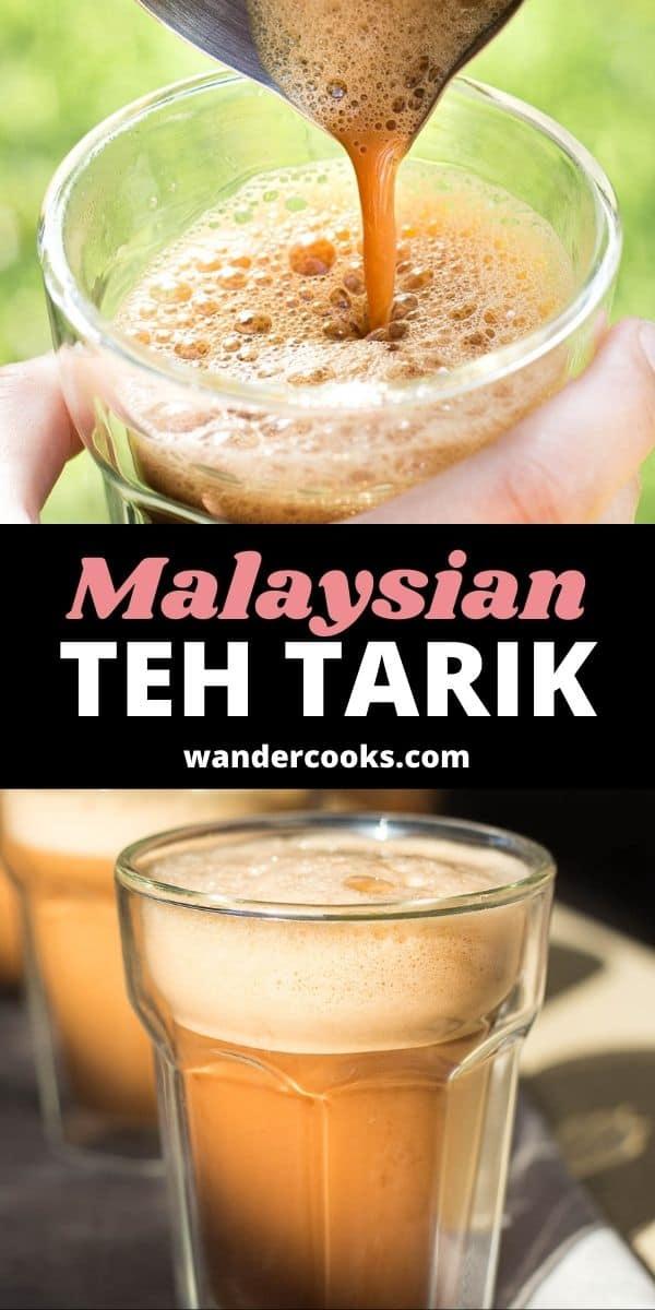 Teh Tarik Recipe - Malaysian Pulled Tea