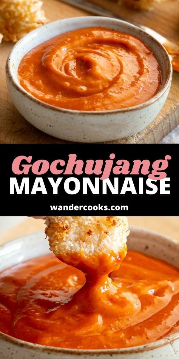 Quick Gochujang Mayonnaise Dipping Sauce