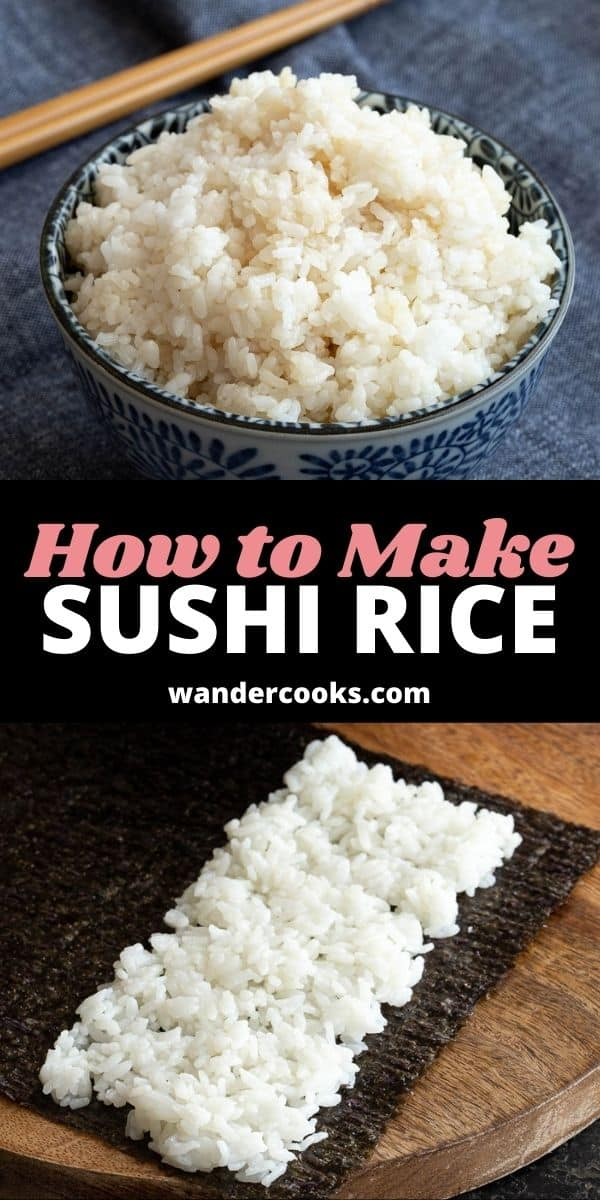 Easy Sushi Rice 3 Ways - Rice Cooker, Instant Pot & Stove