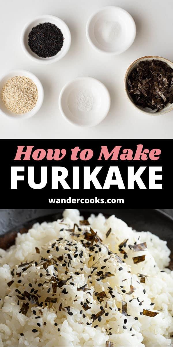Quick Japanese Rice Seasoning - Nori Komi Furikake