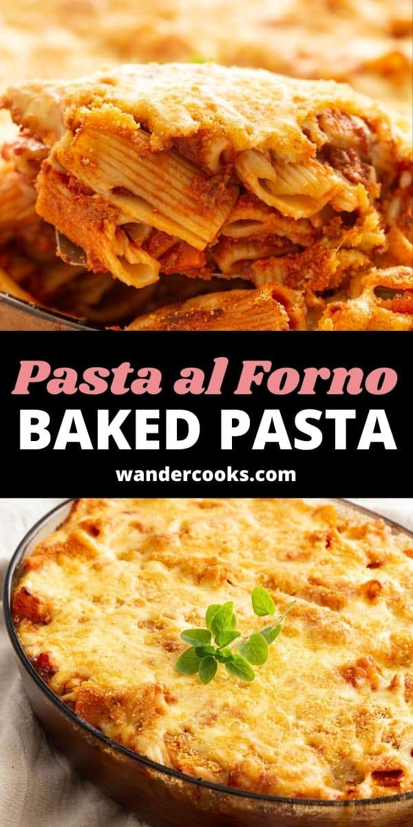 Classic Pasta al Forno - Italian Pasta Bake