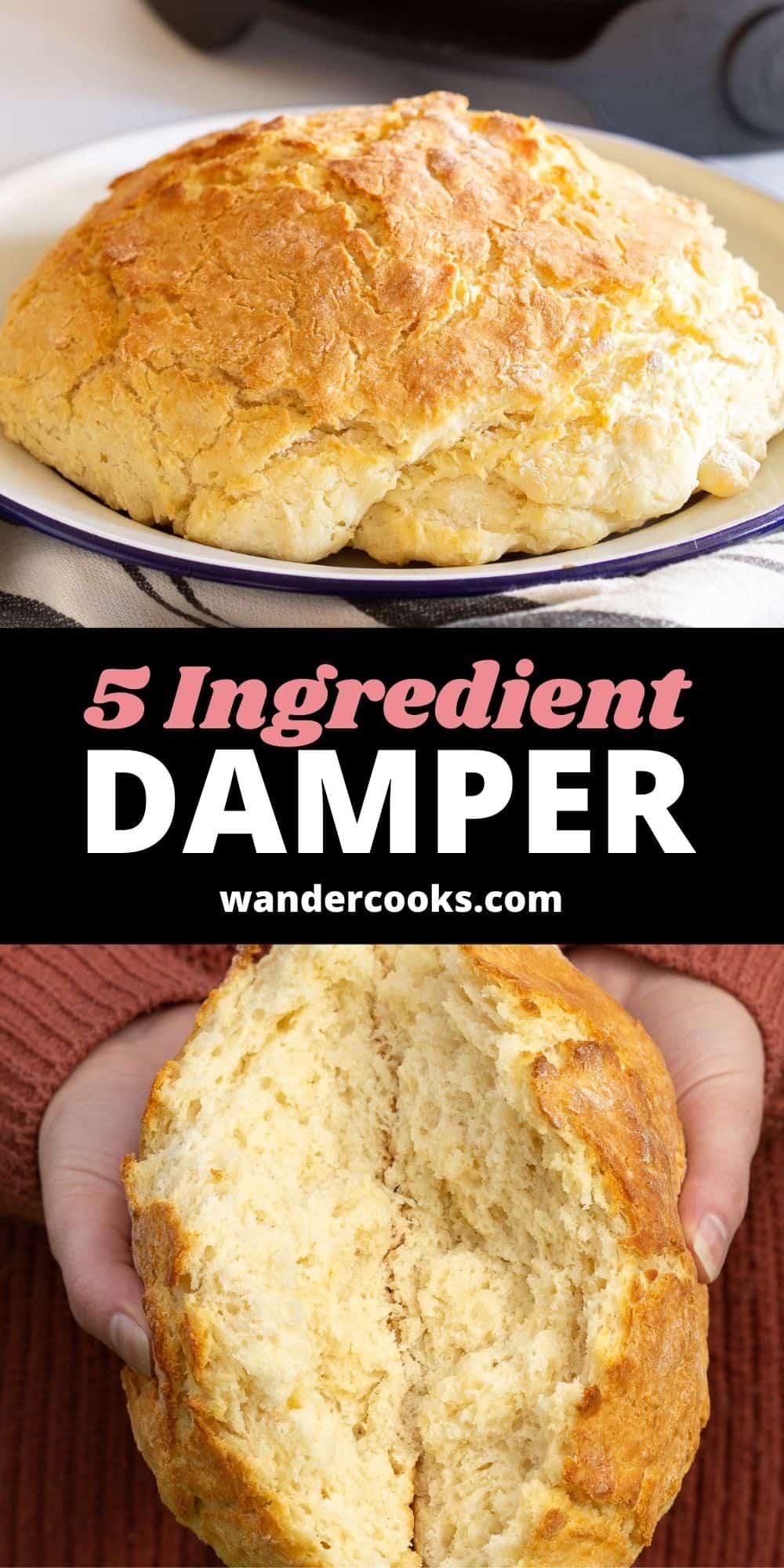 5 Ingredient Australian Damper Recipe
