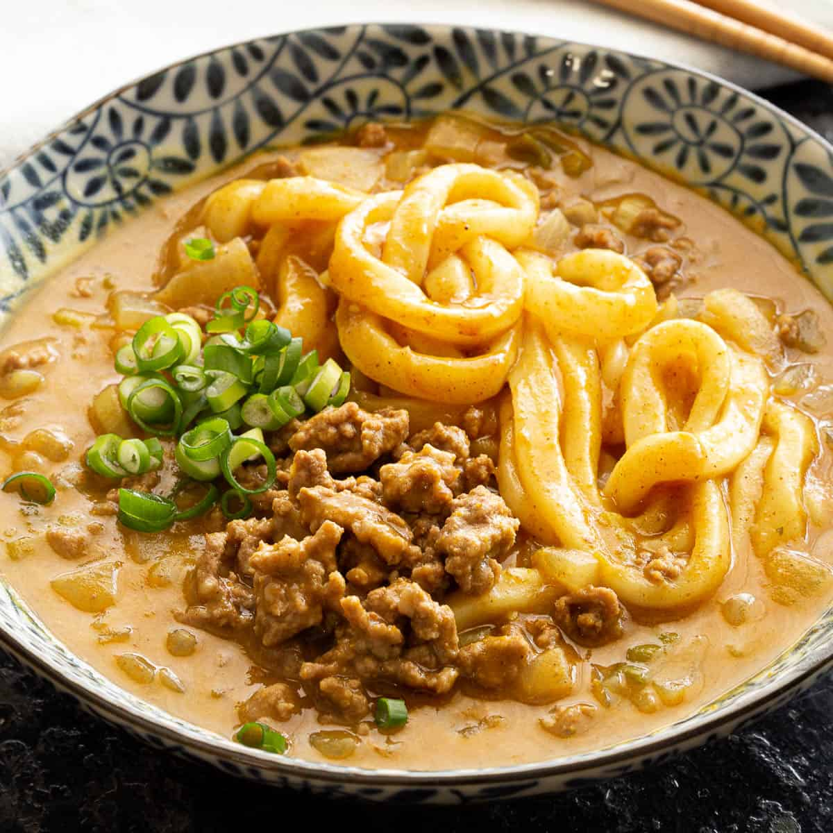 Easy 15 Minute Japanese Curry Udon