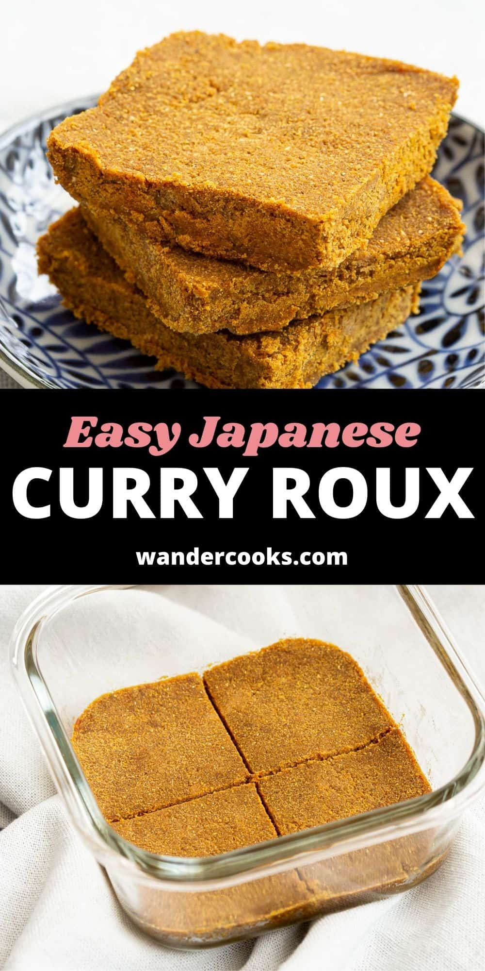 Easy Homemade Japanese Curry Roux