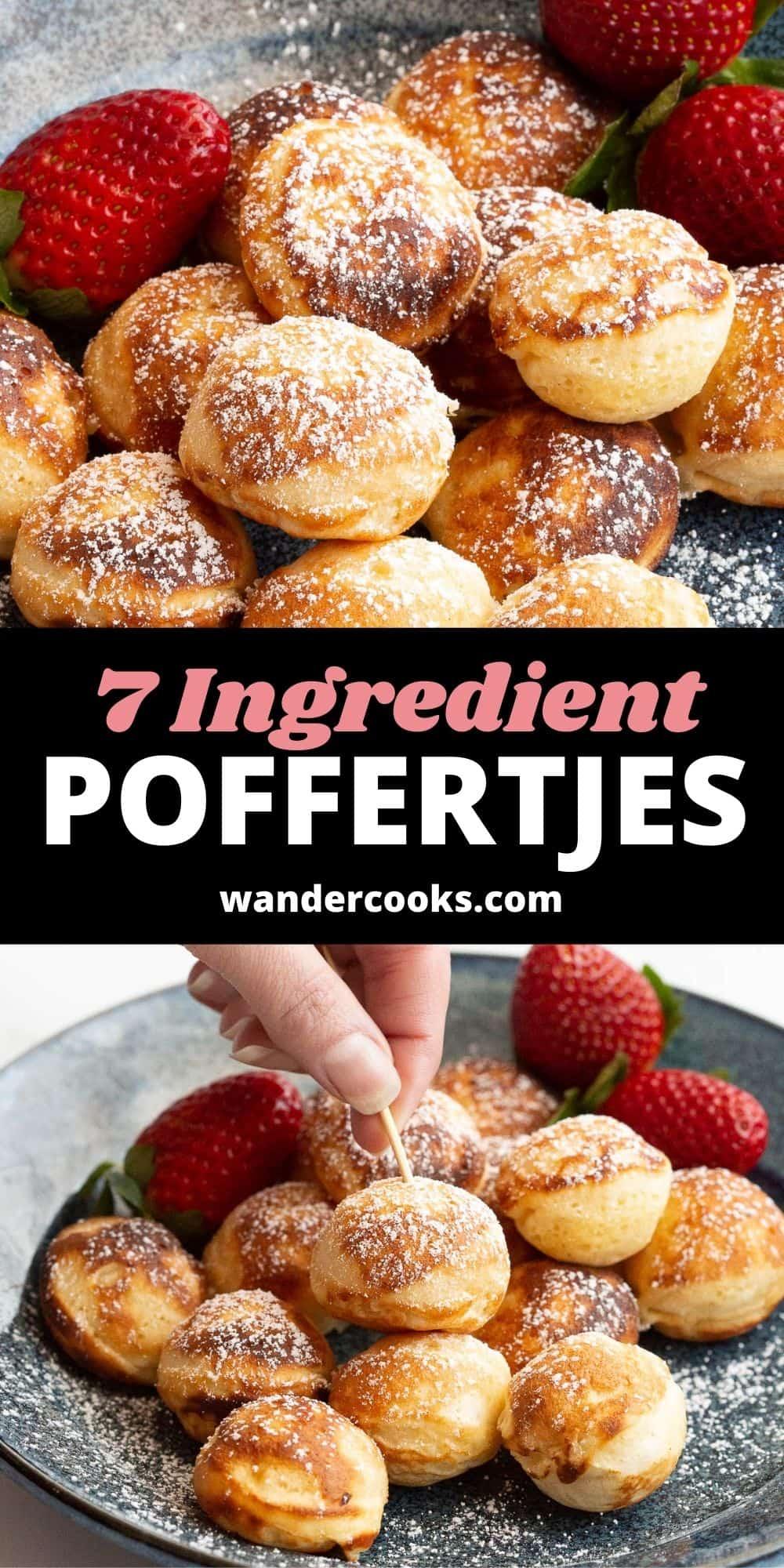 Simple Poffertjes - Dutch Mini Pancakes