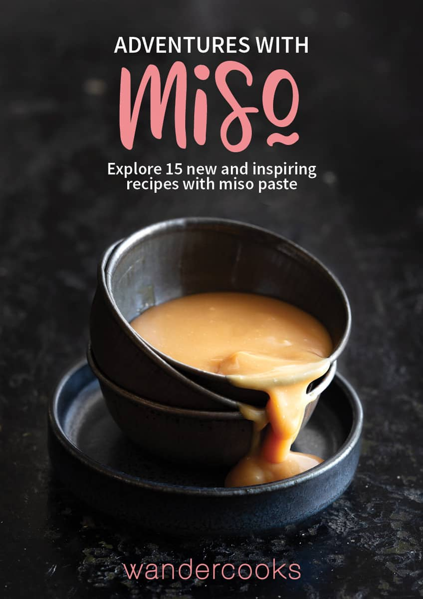 Ebook cover showing a bowl of sauce and text overlay.