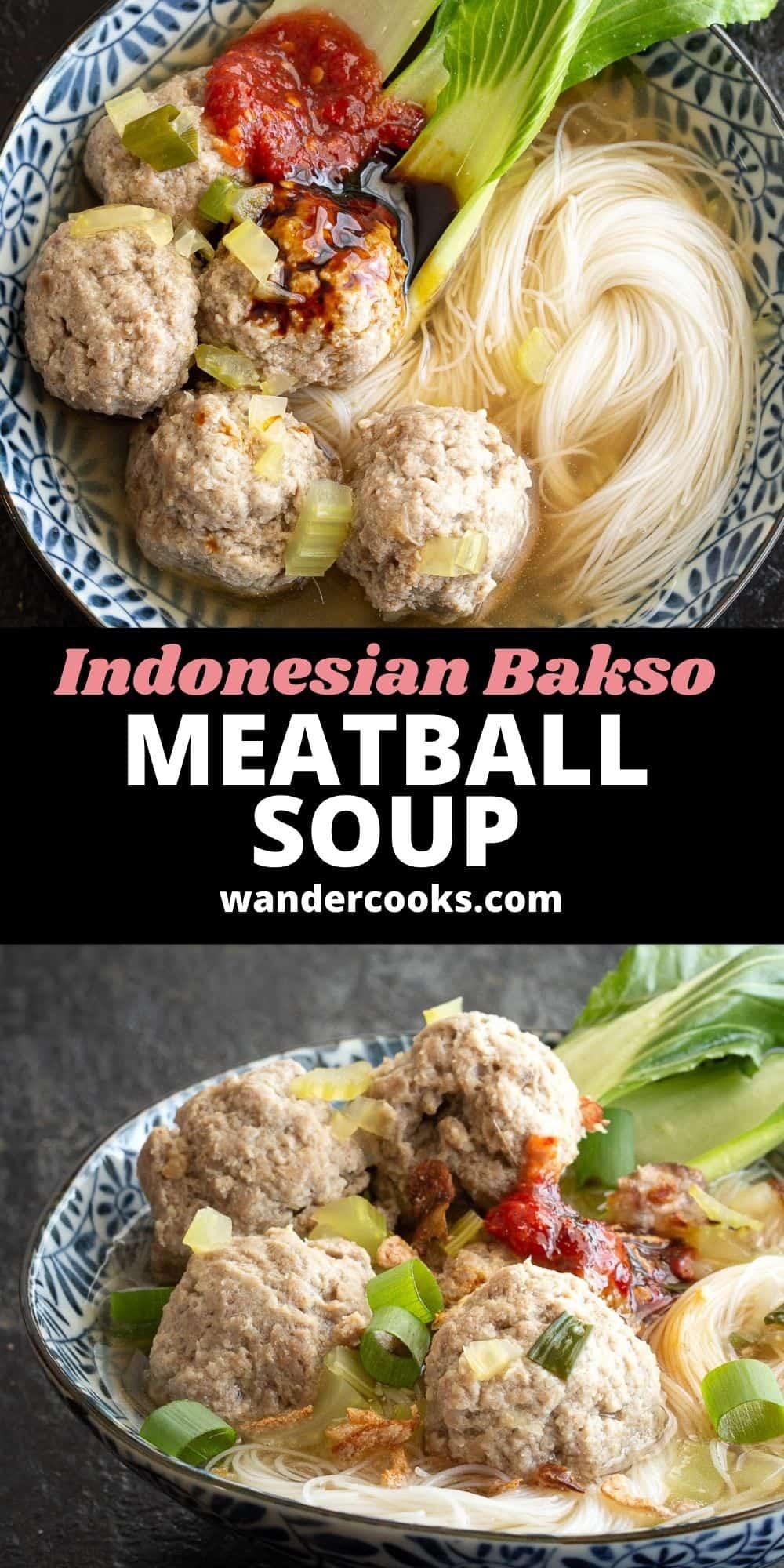 Bakso - Indonesian Meatball Soup (Best Street Food!)