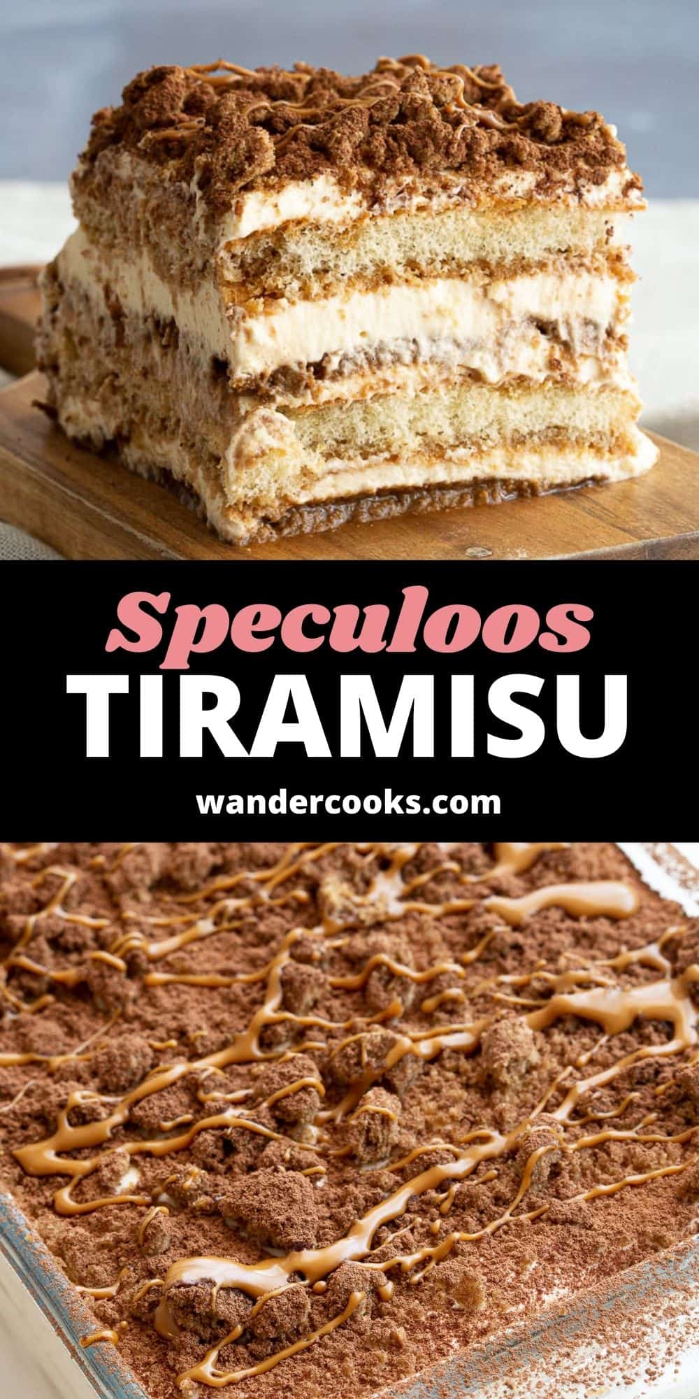 Easy Speculoos Tiramisu with Biscoff Spread