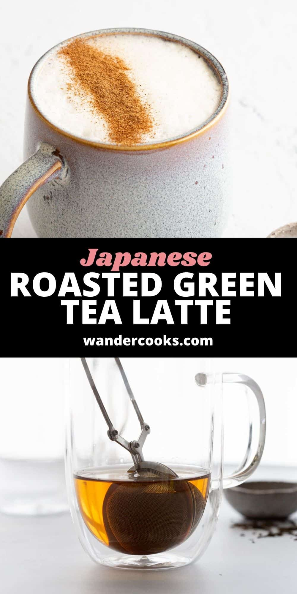 Hojicha Latte - Japanese Roasted Green Tea Latte