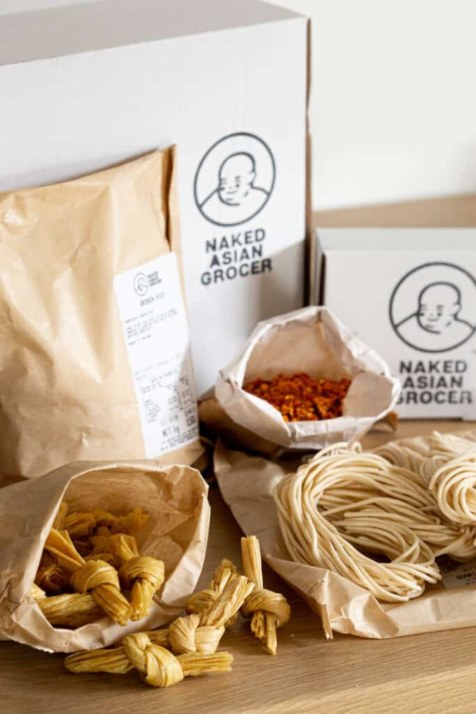 Plastic free packaging and bulk food from Naked Asian Grocer.
