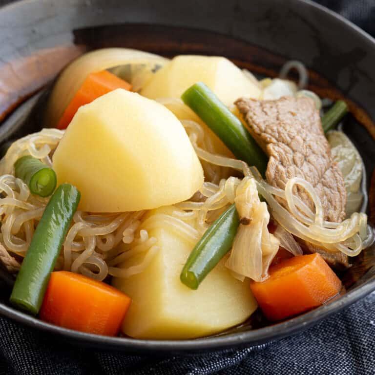 One Pot Nikujaga – Japanese Beef and Potato Stew