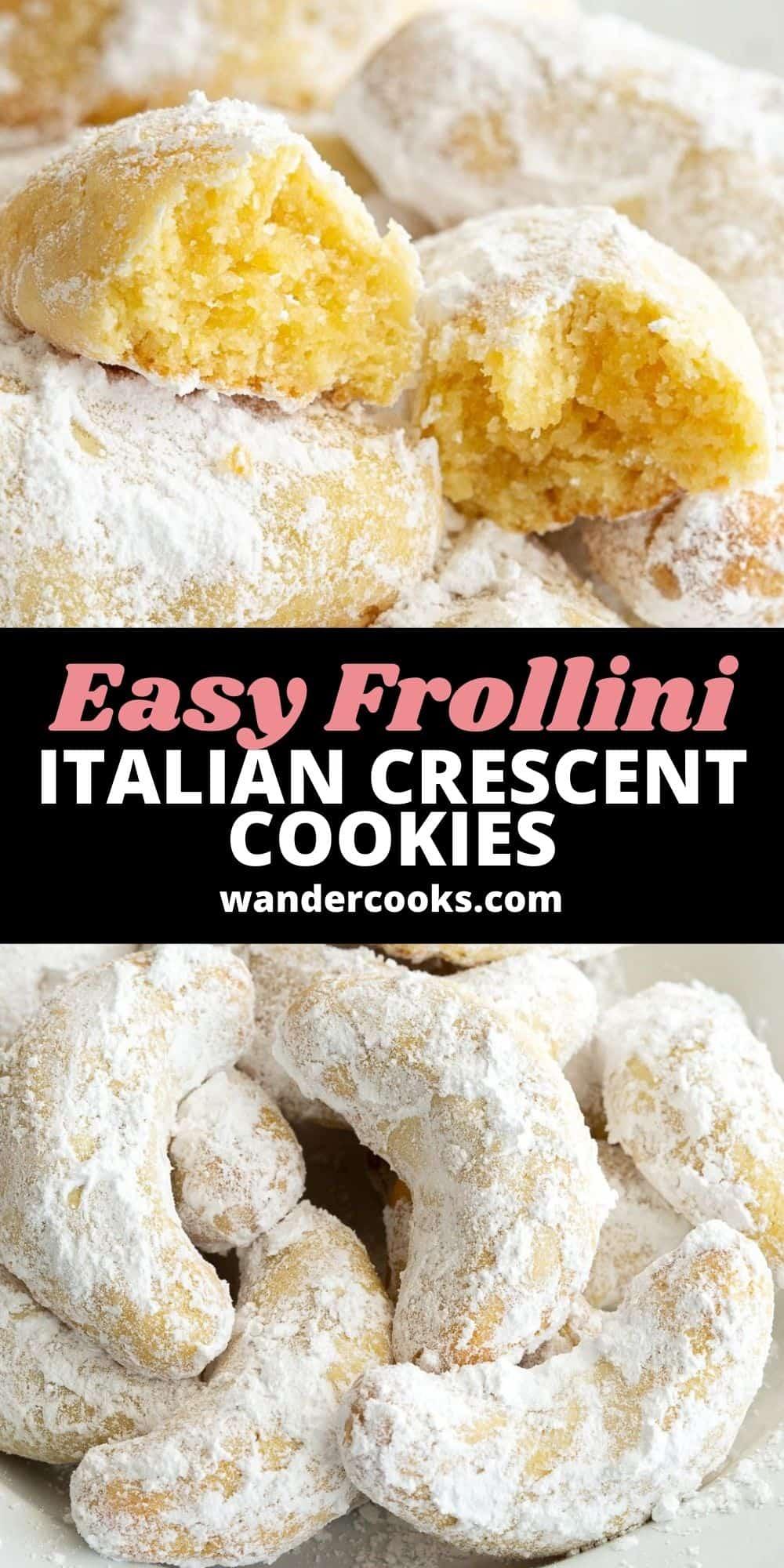 Biscotti Frollini - Italian Style Shortbread